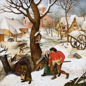 Драка крестьян (1623)