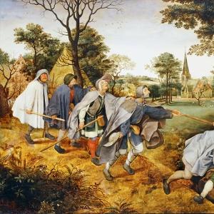Слепые ведут слепых (ок.1600)