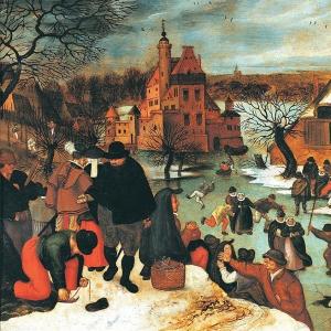 Зима, катание на коньках (1600-1605)