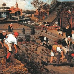 Весна, работа в саду (1600-1605)