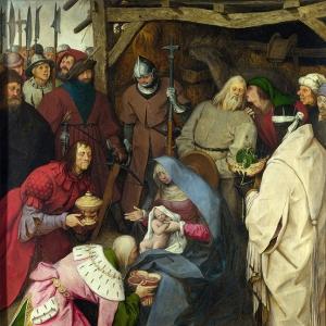 Поклонение волхвов (1564)