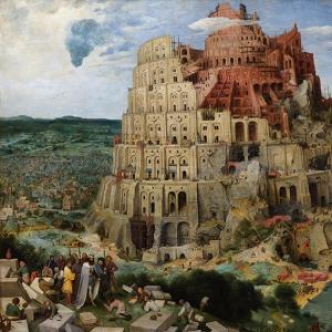 Вавилонская башня (2-ой вариант) (1564)