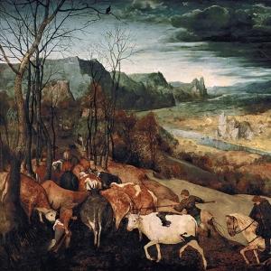 Возвращение стада (Ноябрь) (1565)