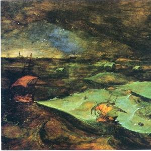 Буря на море (1568)