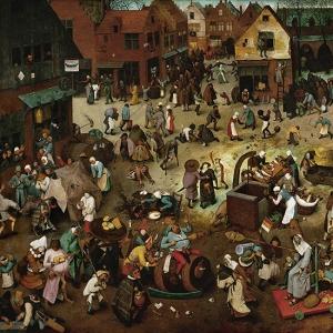 Битва Поста и Масленицы (1559)