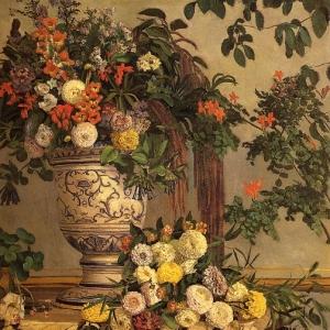 Жан Фредерик Базиль - Цветы
