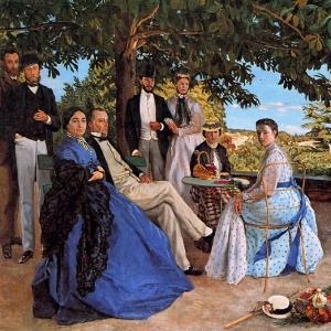 Жан Фредерик Базиль - Сбор всей семьи