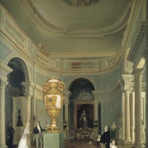 Овальный зал Старого Эрмитажа