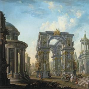 Архитектурный вид. 1789