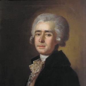 Портрет композитора Дмитрия Степановича Бортнянского. 1788