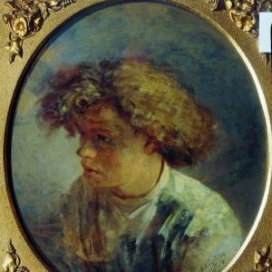 Бобров Виктор Алексеевич - Портрет В.М. Максимова 1864