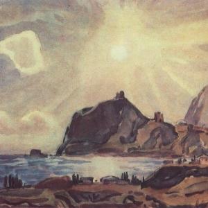Вид Судака1. 1930-е