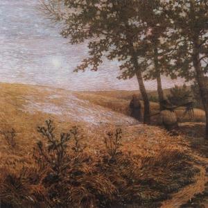 Вечерний пейзаж. 1907