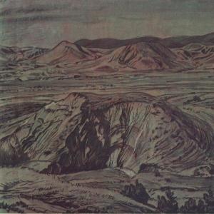 Горный пейзаж. 1920-е