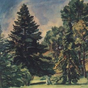 Алупкинский парк. 1924
