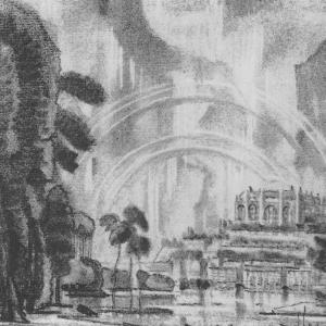 Воображаемый город. Радуга. 1930-е