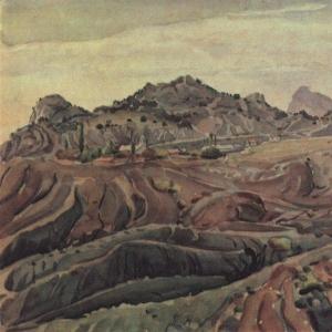 Вид в окрестностях Судака. 1930-е