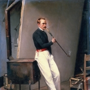 Эмиль-Жан-Орас Верне - Автопортрет