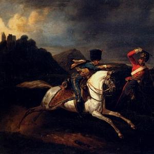 Эмиль-Жан-Орас Верне - Два кавалериста