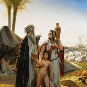 Эмиль-Жан-Орас Верне - Изгнание Агари