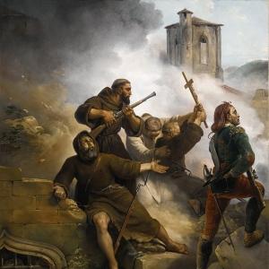 Эмиль-Жан-Орас Верне - Осада Сарагосы