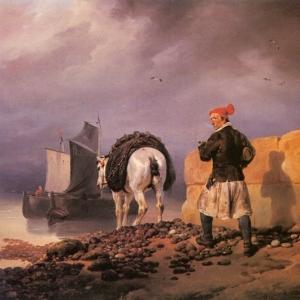 Эмиль-Жан-Орас Верне - Отбытие рыбака