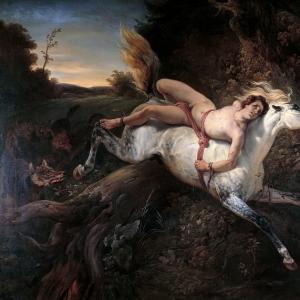 Эмиль-Жан-Орас Верне - Мазепа и волки