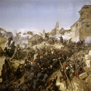 Эмиль-Жан-Орас Верне - Осада Константины. Взятие города 13 октября 1837