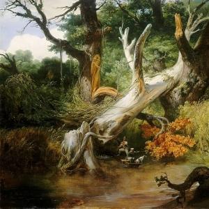 Эмиль-Жан-Орас Верне - Охота в Понтийских болотах