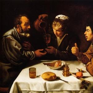 Крестьяне за столом (ок.1620)