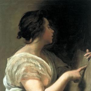 Женщина в образе Сивиллы