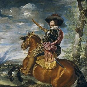 Конный портрет Гаспара де Гусмана, графа-герцога Оливареса