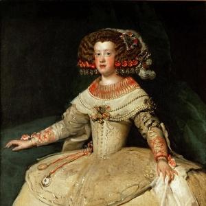 Портрет Марии Австрийской, королевы Венгрии