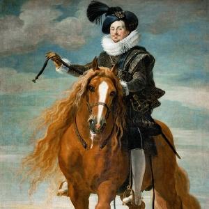 Конный портрет маркиза де Леганес