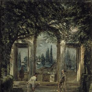 Вилла Медичи в Риме, Павильон Ариадны
