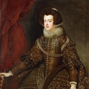 Портрет Изабеллы де Бурбон, супруги Филиппа IV, королевы Испании и Португалии
