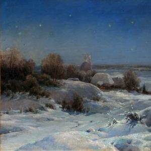 Украинская ночь. Зима.j