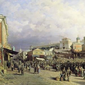 Рынок в Нижнем Новгороде
