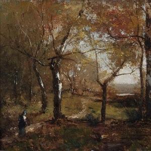 Альфред Валберг - Осень