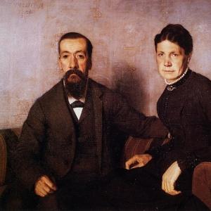 Валлоттон Феликс - Родители художника