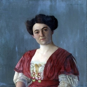 Валлоттон Феликс - Портрет госпожи Гаазен