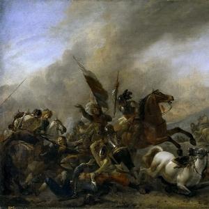 Воуверман Филипс - Битва
