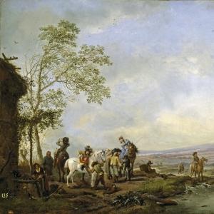 Воуверман Филипс - Привал