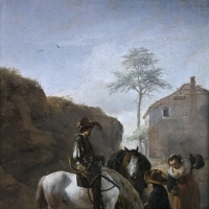 Воуверман Филипс - Привал охотника