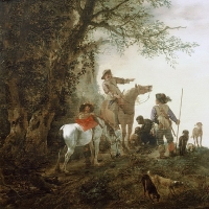 Воуверман Филипс - Охотники на привале