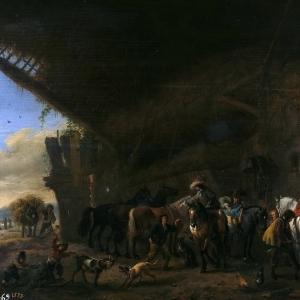 Воуверман Филипс - Выезд с постоялого двора