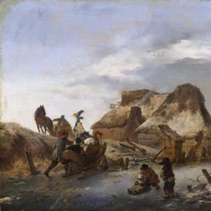 Воуверман Филипс - Сани для новичков на льду