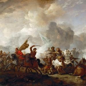 Воуверман Филипс - Битва имперской и турецкой кавалерий