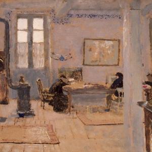 Эдуард Вюйяр - В комнате