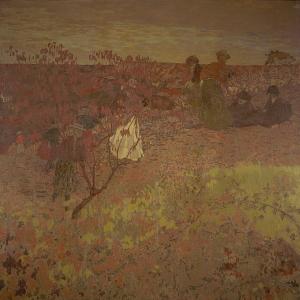 Эдуард Вюйяр - Прогулка в винограднике